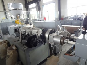 PVC double pipe machine- extruder
